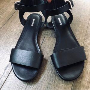 Express Women's Black Sandals